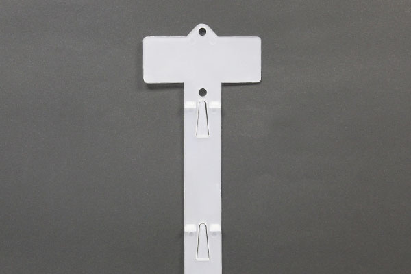 ganchera plástica 6 pasos vertical clip strip h138a6