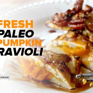 Paleo Pumpkin Ravioli
