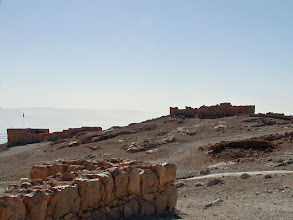 Photo: Many of the buildings are associated with Herod's needs and the rest were built to house and administer to the support staff.