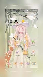 Pink Lovely Girl screenshot 0