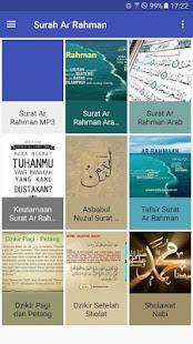 Surah Ar Rahman Mp3 Arab Latin Dan Terjemahan Apps En
