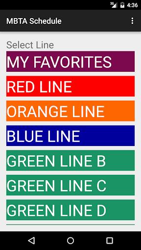 MBTA Realtime Schedule 2