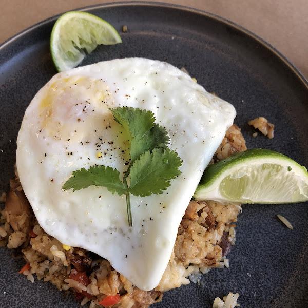 Sisal fried rice breakfast