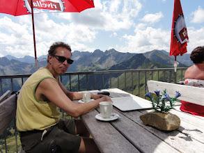 Photo: Latte in Häferln - Gipfelstation Fellhorn