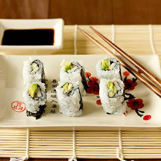 California Rolls (including Sushi Rice).