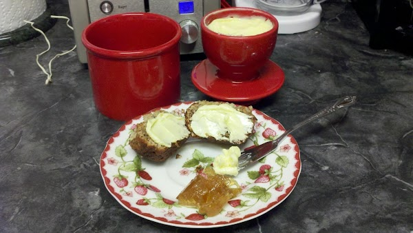 About Devonshire or Clotted Cream: This delicacy is not imported anymore due to issues...