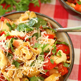 Tortellini Salad With Salami And Cheese Recipes