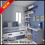 Modern Bedroom Design Icon