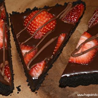 No-Bake Strawberry Ganache Tart Recipe