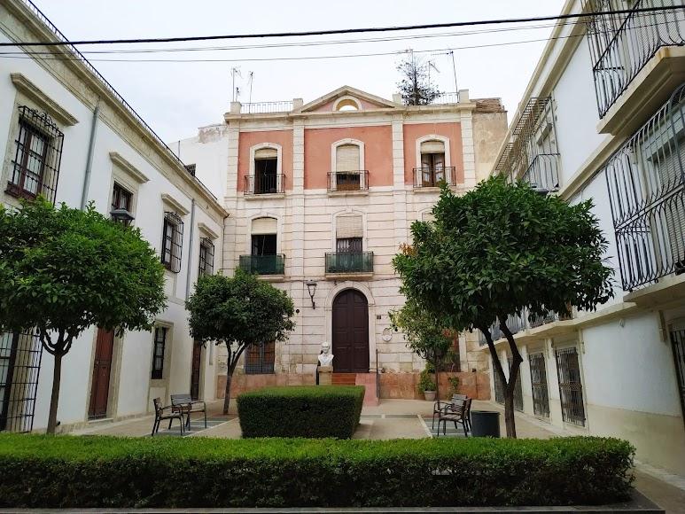 Calle Maestro Rodríguez Espinosa donde vivió Federico García Lorca