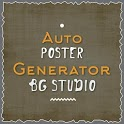 Auto Poster Maker - Text Generator icon