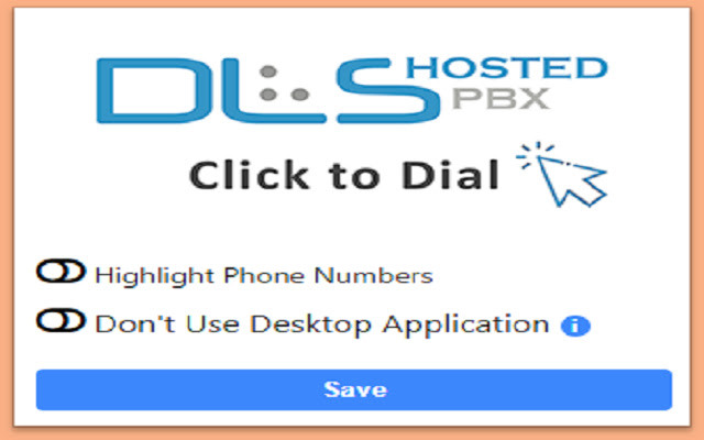 Click to Dial - DLS Hosted PBX