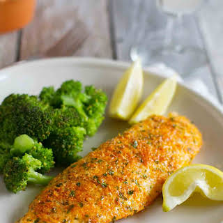 Parmesan Crusted Fish Fillet Recipes.