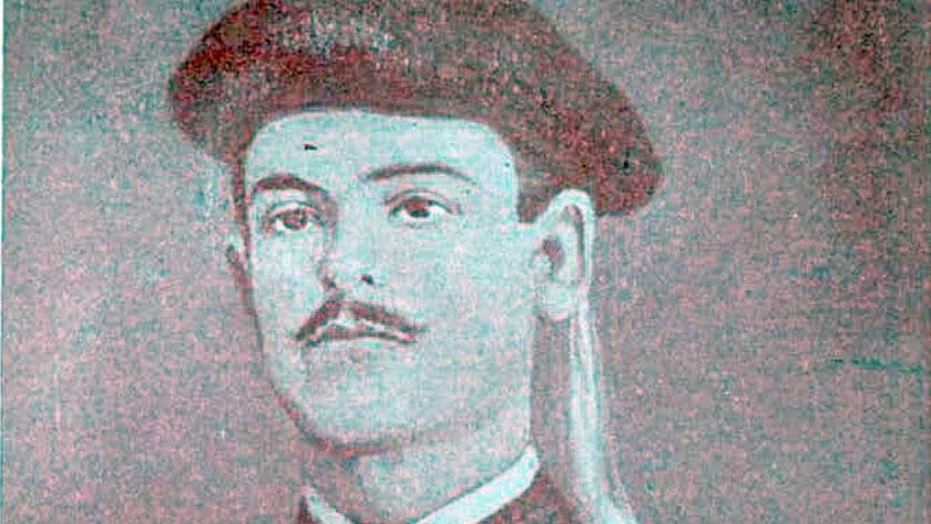 El intendente carlista José Barrionuevo Soto, nacido en Berja en 1854. Museo del Ejército.