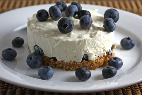 """No-Bake Cheesecake""""Cool and creamy cheesecake with no baking required."""" - Kevin"""