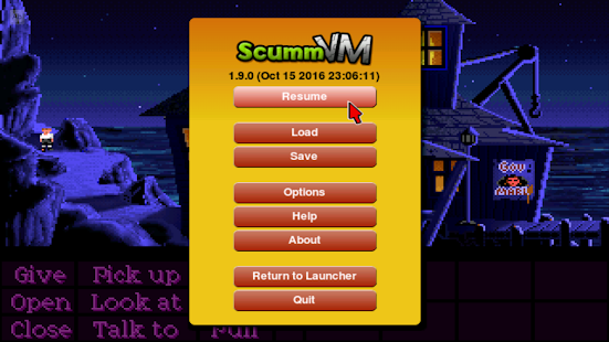 ScummVM- screenshot thumbnail