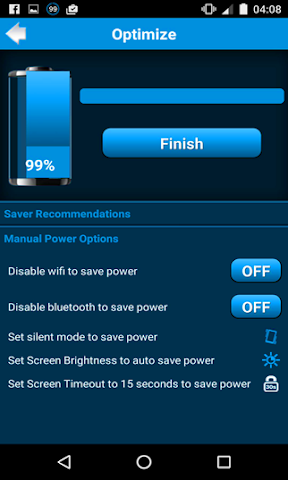 android Fast Battery Charger mAH Screenshot 1