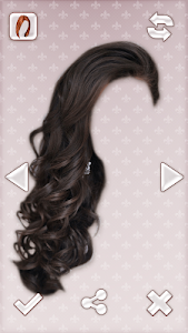 Woman Hair Style Photo Montage screenshot 0