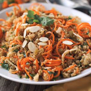 Moroccan Quinoa and Carrot Salad.