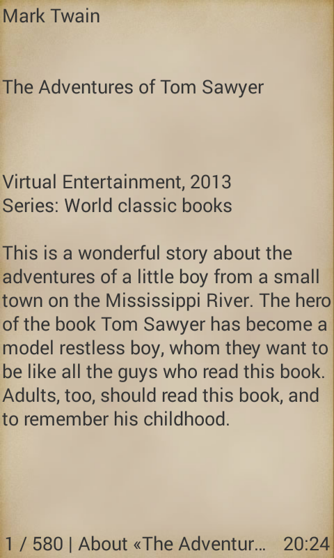 the adventures of tom sawyer android apps on google play the adventures of tom sawyer screenshot