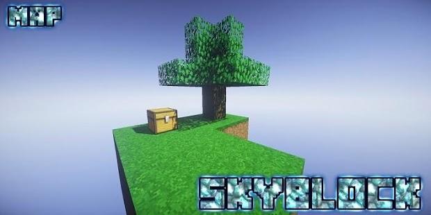 SkyBlock Map MCPE - náhled