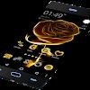 Thème pour Android Golden