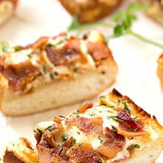 Cheesy Bacon Ranch Garlic Bread
