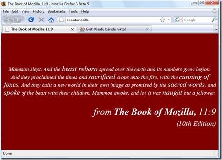 Mozilla-Book