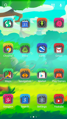 android Jelly - Solo Theme Screenshot 3