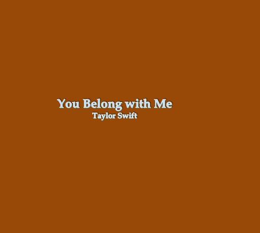 You Belong With Me Lyrics