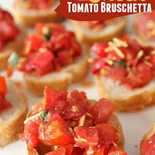 Fresh Bruschetta.