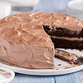 Chocolate-Zucchini Cake.