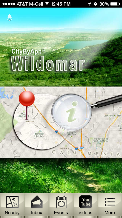 City of Wildomar, CA.- screenshot