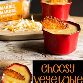 Cheesy Veggie Soup
