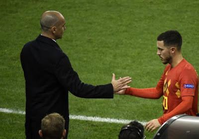 """Eden Hazard au Real Madrid ? Roberto Martinez : """"Il est prêt à faire face à n'importe quel défi"""""""