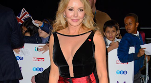 Carol Vorderman 're-engages with life' following her mother's death