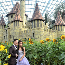 by Koh Chip Whye - Wedding Bride & Groom (  )