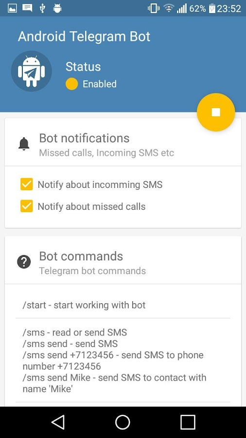 Remote Bot for Telegram APK Cracked Free Download | Cracked Android