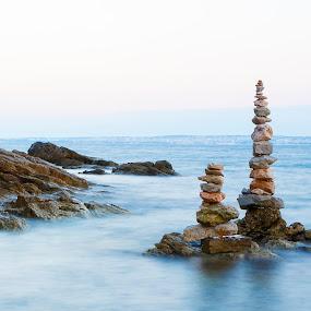 On the coast by Boris Podlipnik - Landscapes Beaches ( vacation, waves, sea, travel, beauty, coast,  )