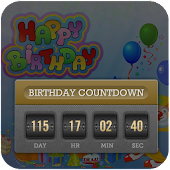 Birthday Countdown LWP