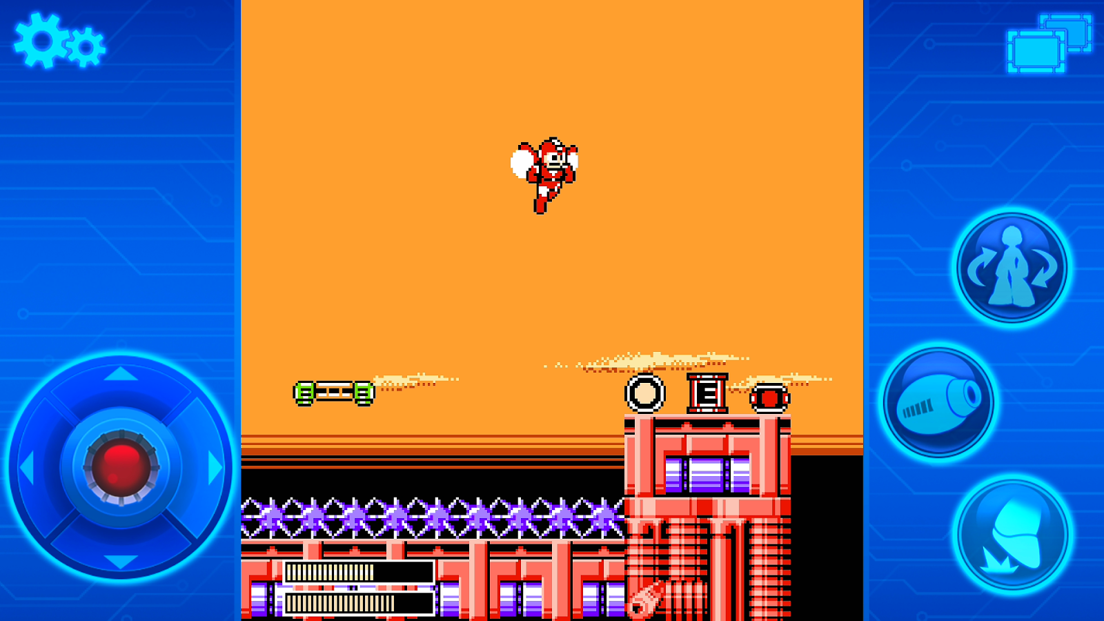 MEGA MAN 6 MOBILE- screenshot
