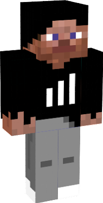 this is steve skin but in adidas pullover gray pants and white keds