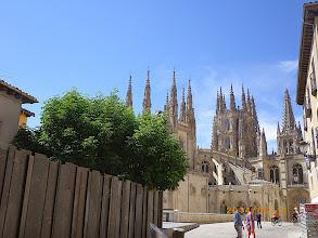 Photo: les flèches de la cathédrale