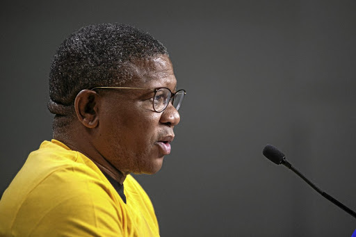 ANC head of elections Fikile Mbalula.