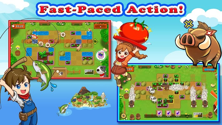 Harvest Moon: Mad Dash Screenshot Image