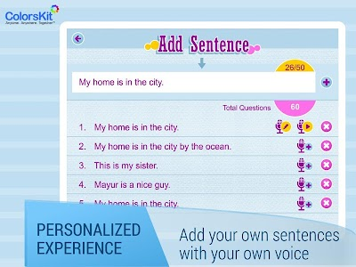 Make Sentences - Age 5-35. screenshot 7
