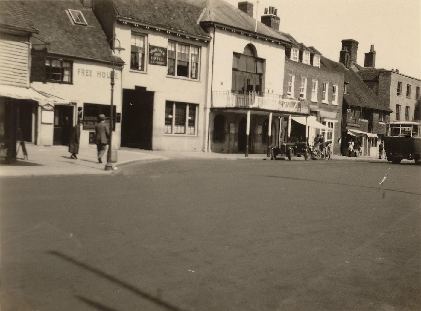 Tenterden Archive 1930 - Tenterden Town Hall