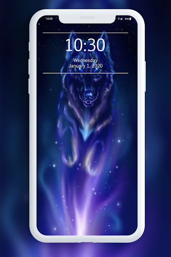 Galaxy Wild Wolf Wallpapers 1.0 screenshots 2