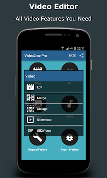 Video2me Pro: Gif Maker, Video-Mp3 Editor, Trimmer