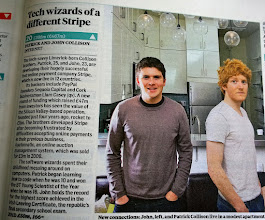 Photo: The youngest entrepreneurial brothers in Ireland hold down top spot on the Under 25 Rich List.